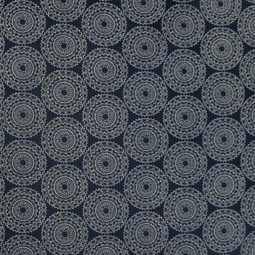 Tissu Softshell Points Bleu Blanc Imperméable outdoorstoff Vestes Tissu