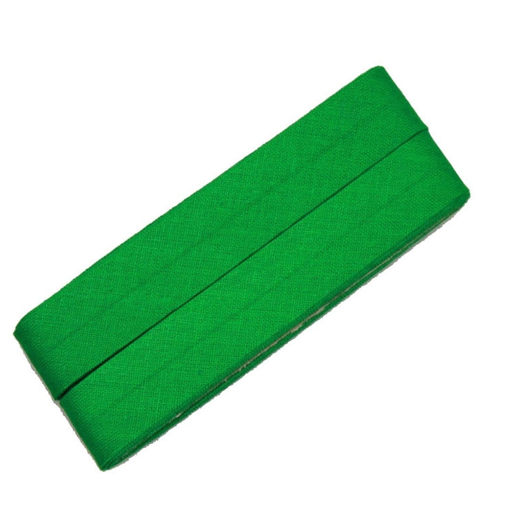 5 m Cotton bias binding green (450)