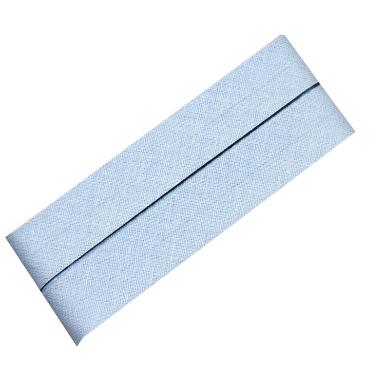 5 m Cotton bias binding light blue (259)