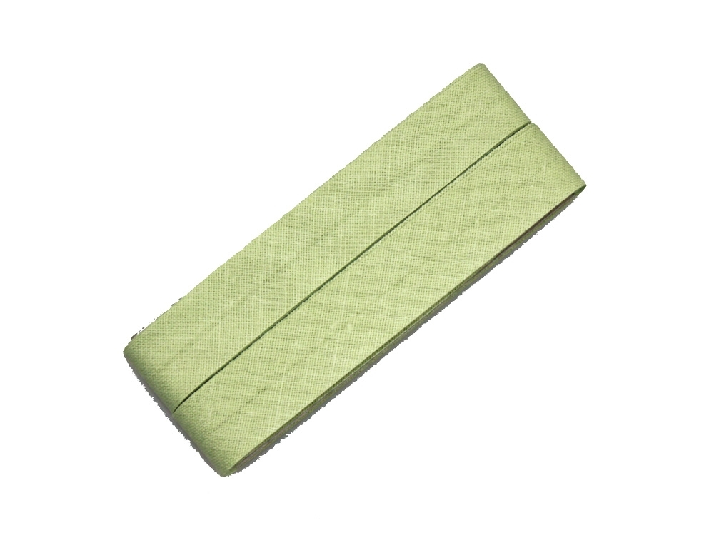 5 m Cotton bias binding lily green (539)