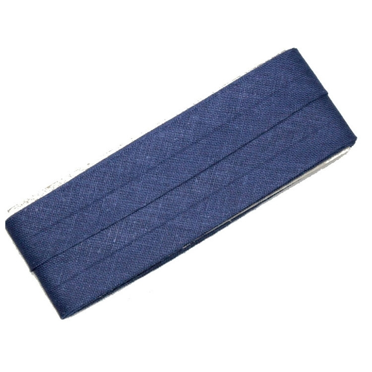 5 m Cotton bias binding navy (210)