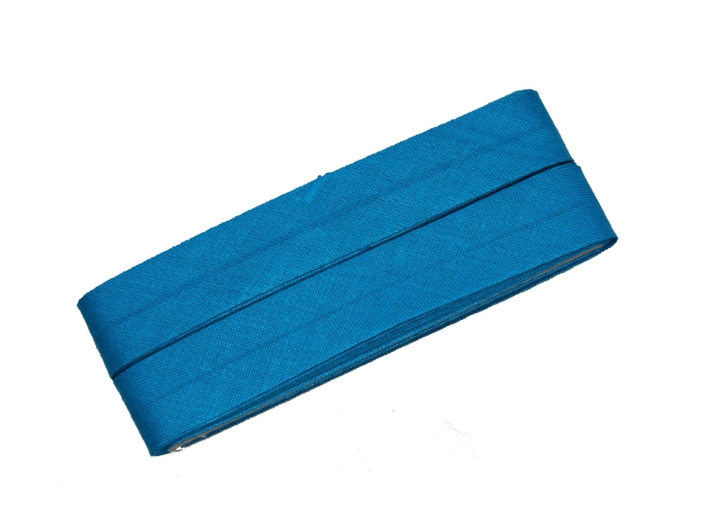 5 m Cotton bias binding blue (277)