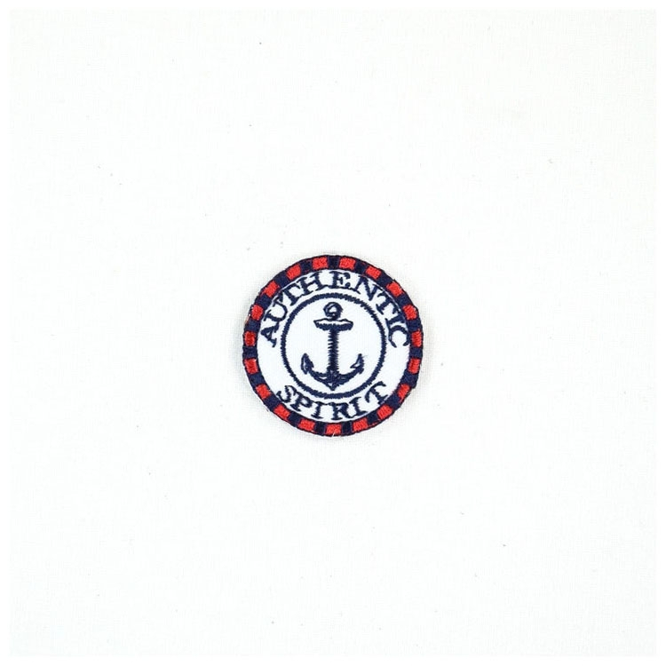 Appliques Authentic Spirit red-marine