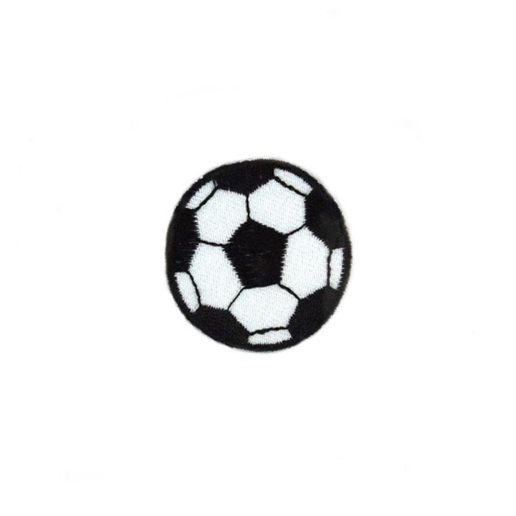 Applikation Fußball klein 3,6 cm