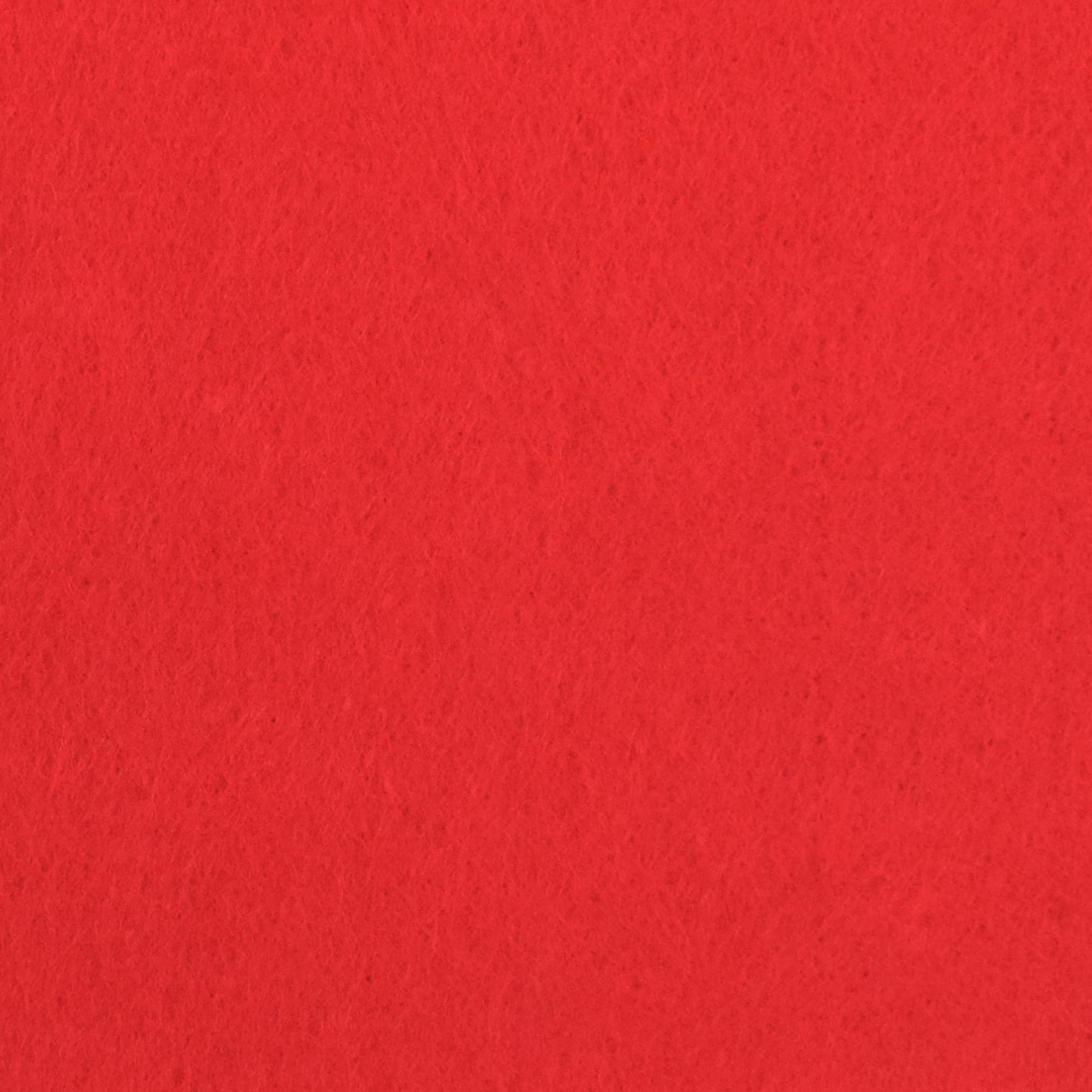 Roter Bastelfilz
