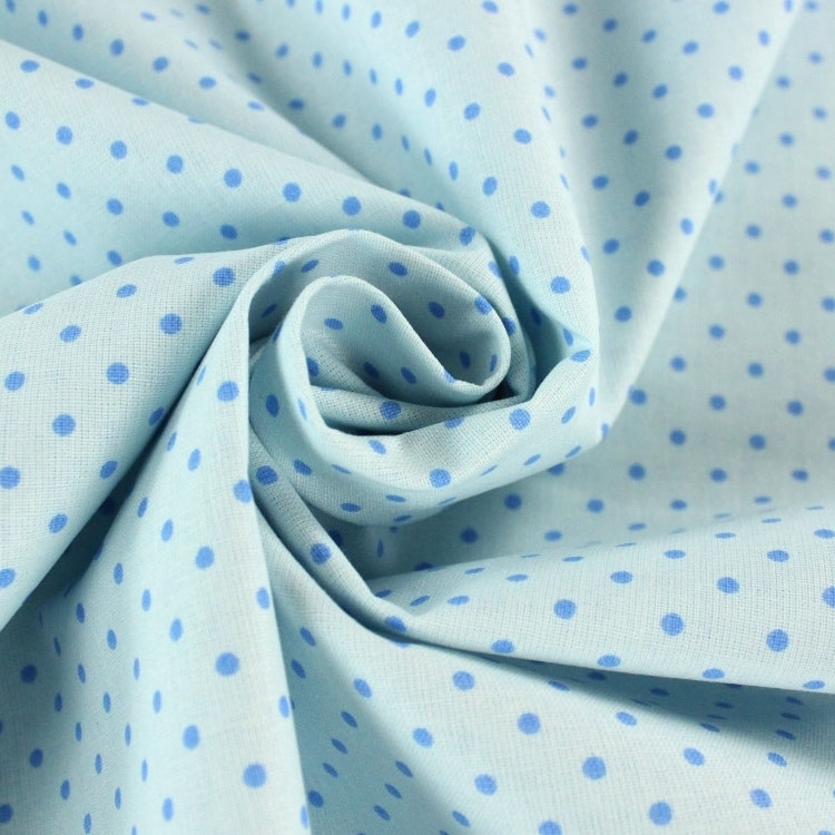 Cotton-Dots lightblue | 6774-902 | blau