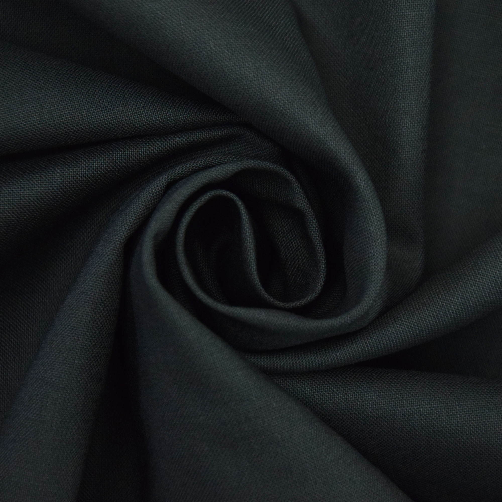 Cotton Cretonne anthracite | 100.018-8002 | grau