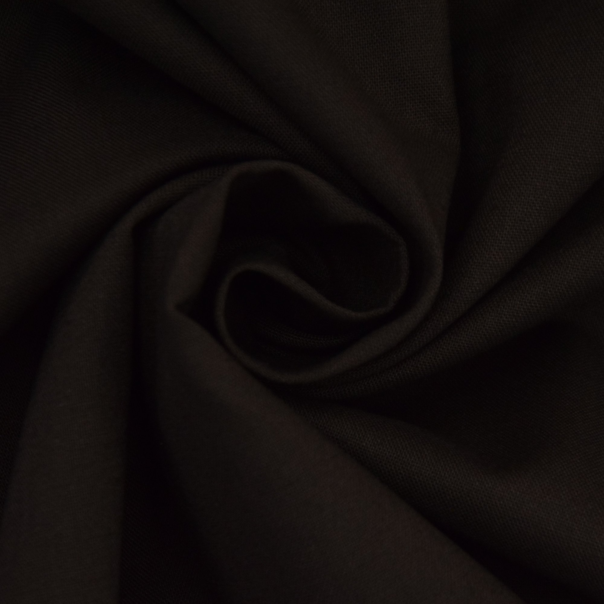 Cotton Cretonne dark brown
