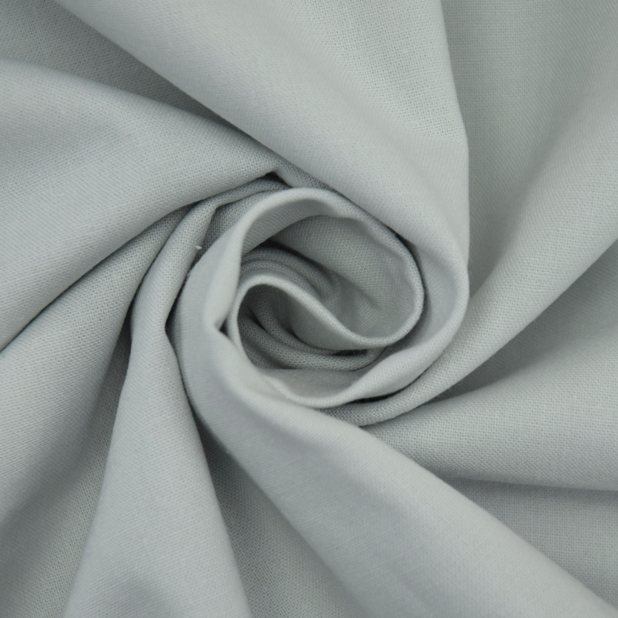Cotton Cretonne grey  white | 100.018-2002 | weiss