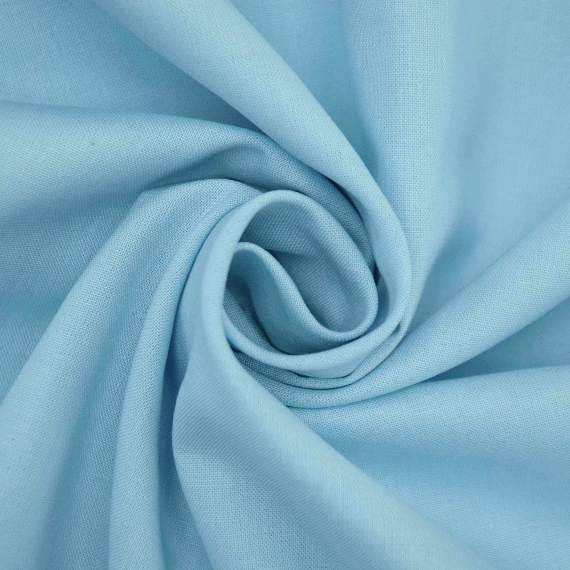 Cotton Cretonne light blue | 100.018-5029 | blau