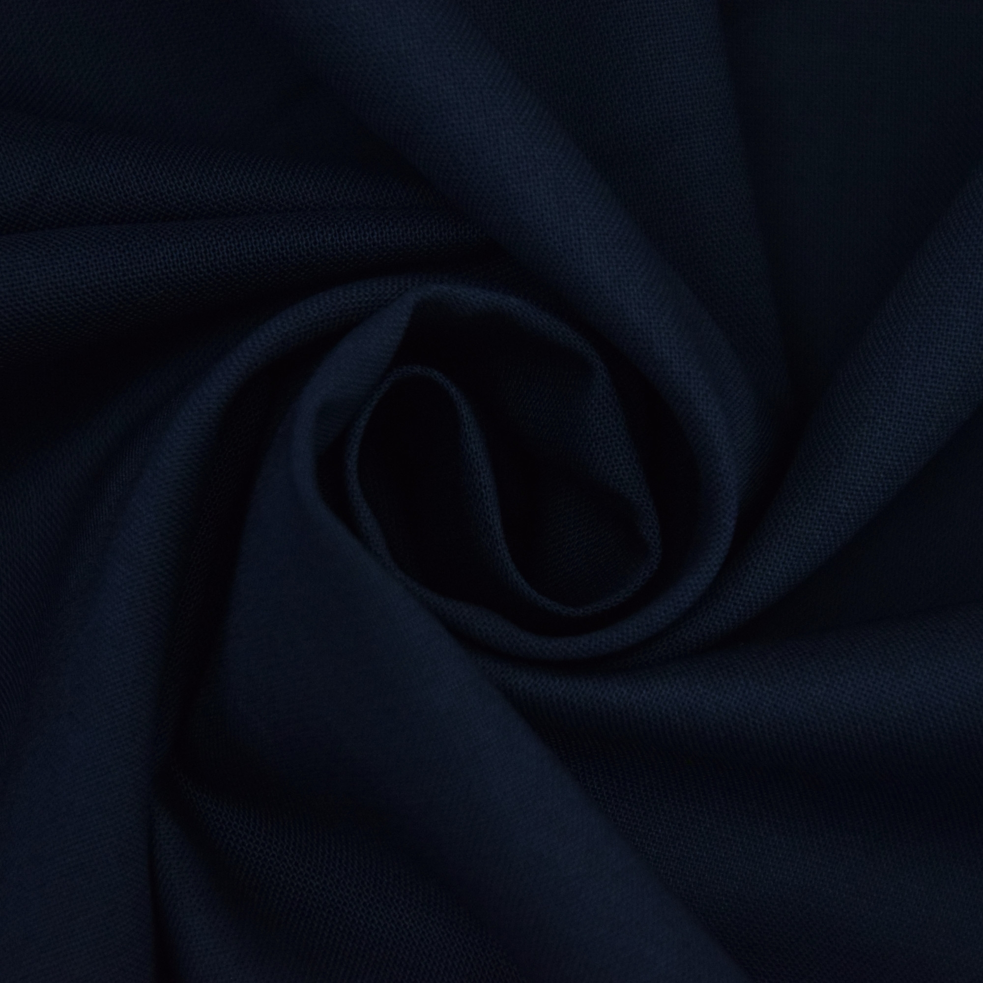 Cotton cretonne navy blue