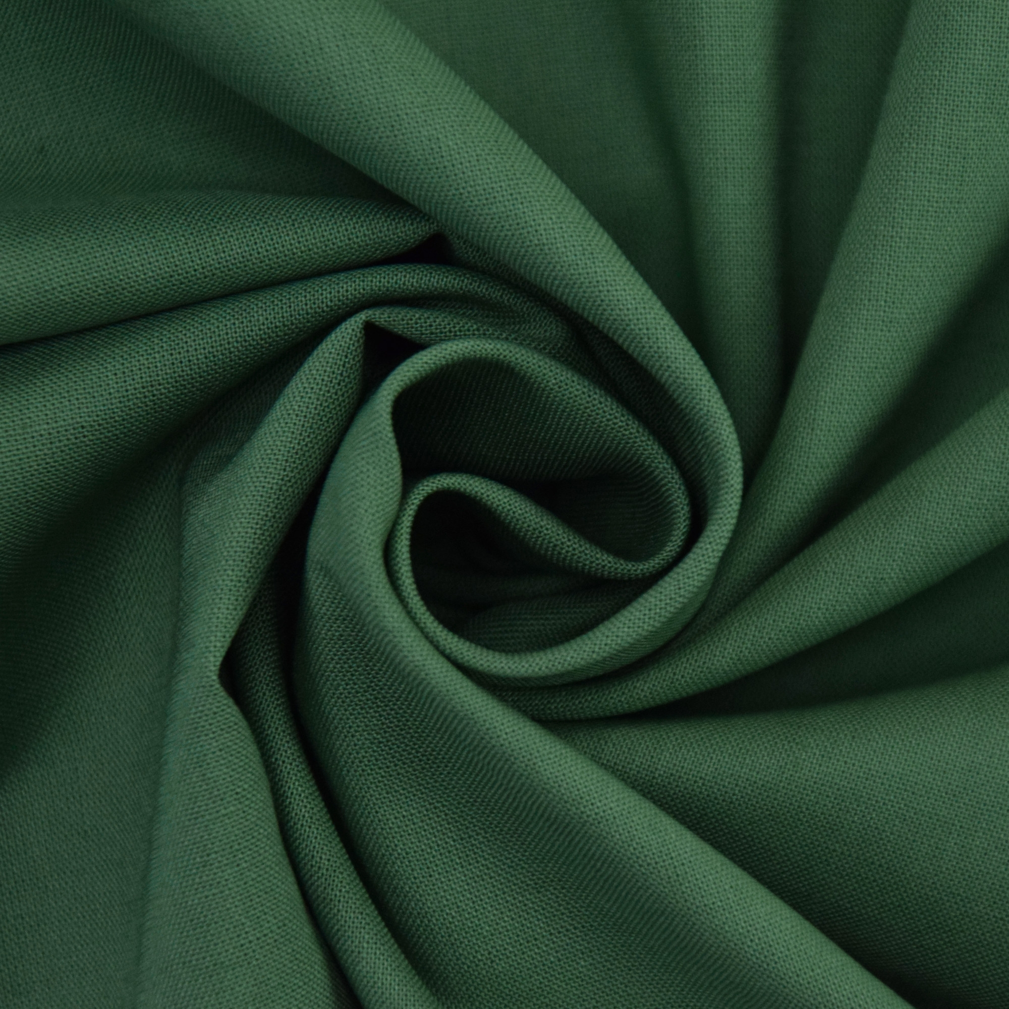 Cotton Cretonne olive-green | 100.018-7037 | grün