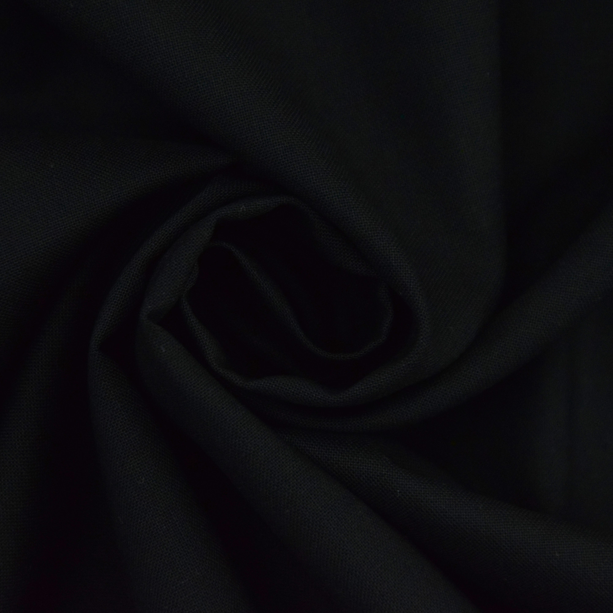 Cotton Cretonne black | 100.018-5001 | schwarz