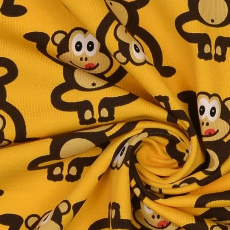 Cotton Jersey Monkey 1