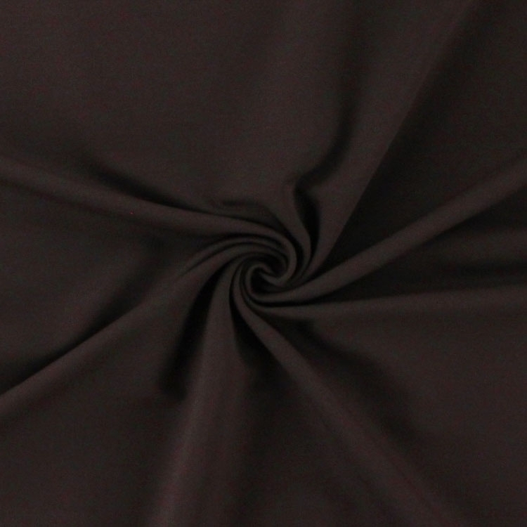 Jersey de coton French Terry uni, dark brown | 355.421-7005 | braun