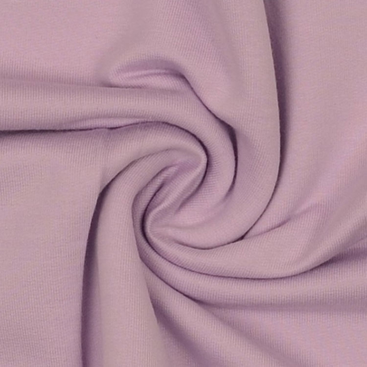Cotton Jersey French Terry uni, lilac
