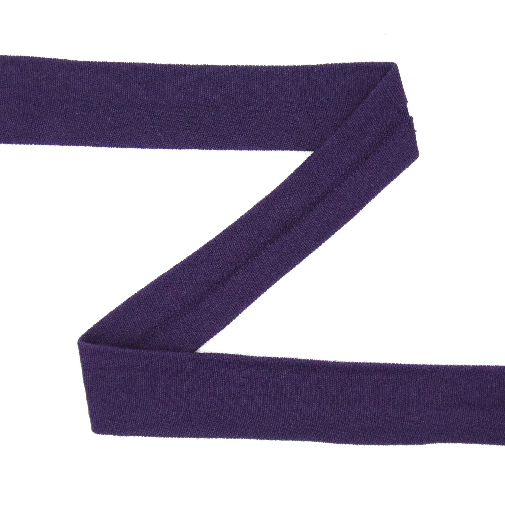 Bias binding stretch cotton, purple | 42745 | lila