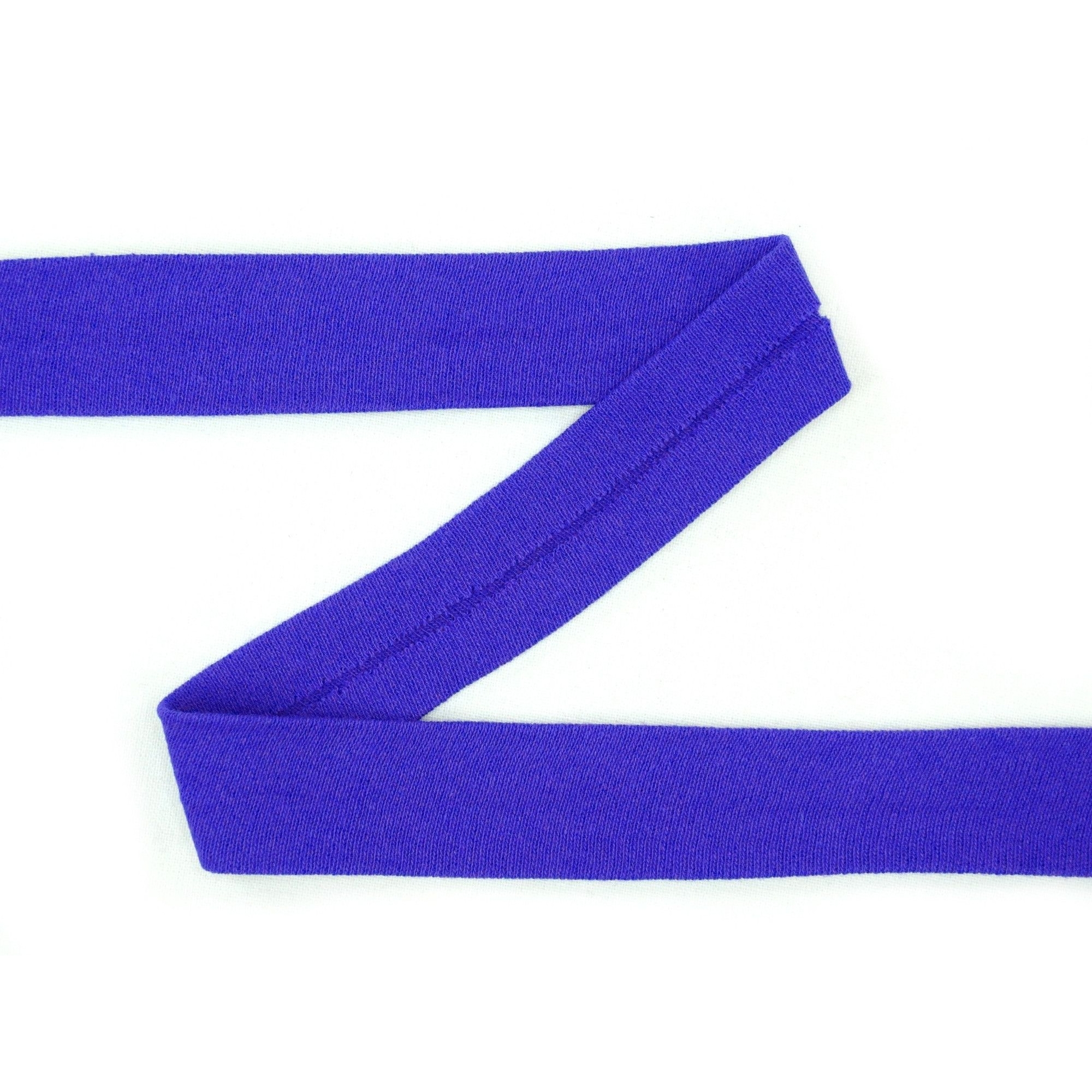 Cotton jersey-bias tape, royal blue | 42732 | blau