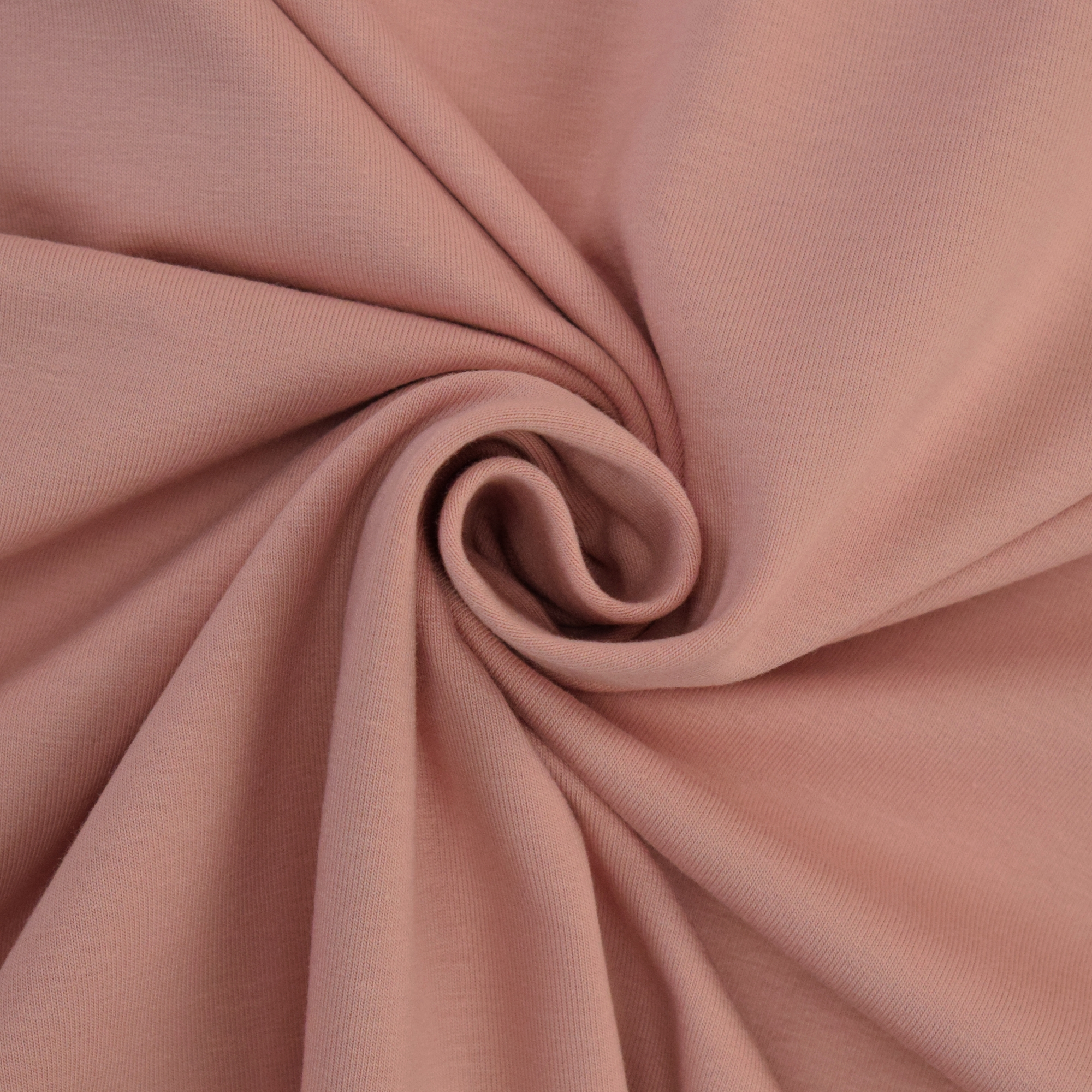 Cotton jersey plain, pale rosé | 124.554-3478 | rosa