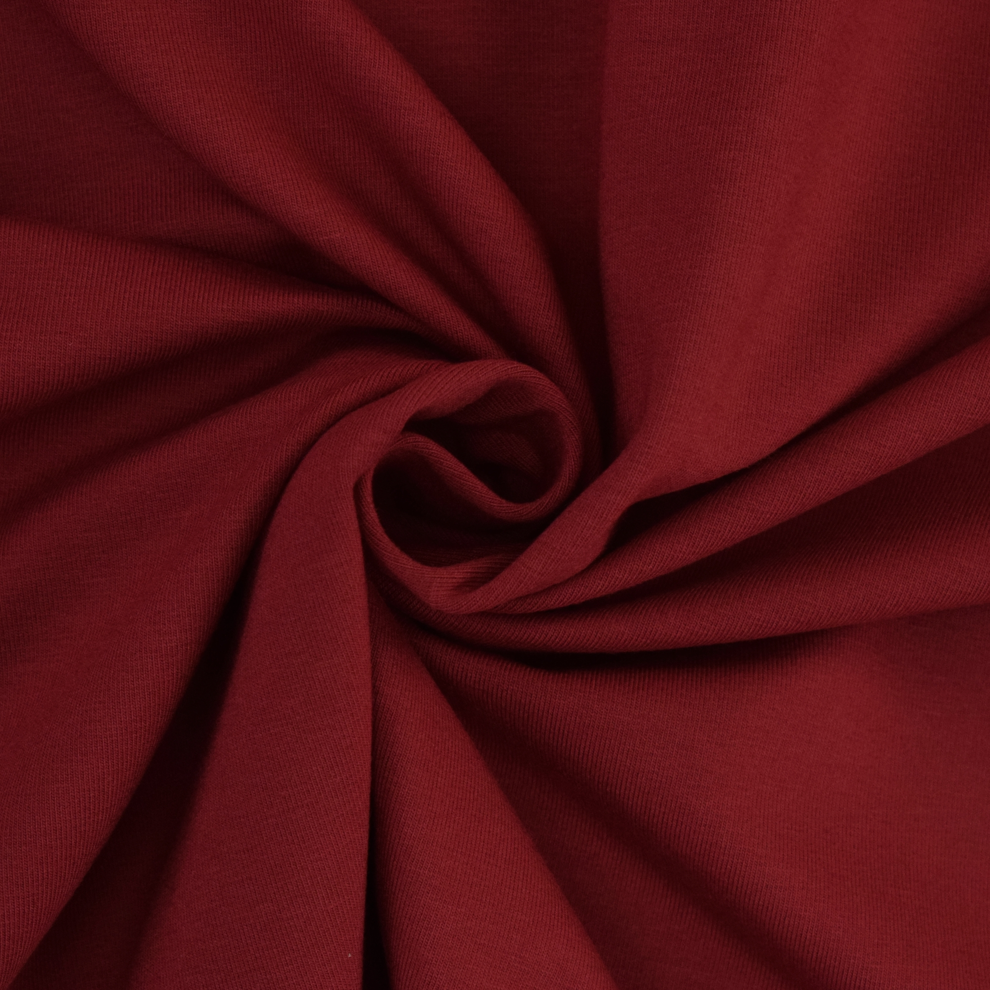 Cotton jersey plain, claret-red | 455.421-0205 | rot