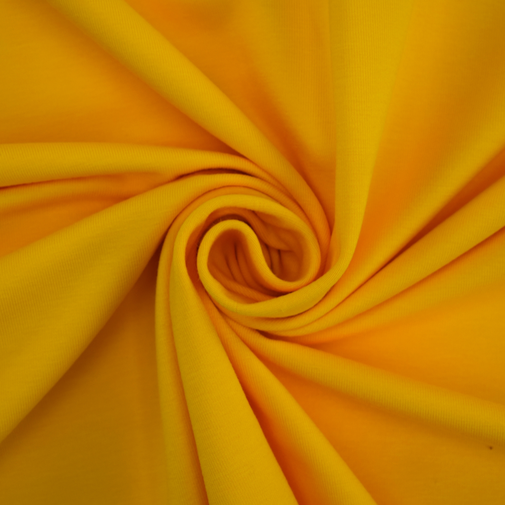 Cotton jersey plain, yellow | 455.421-1107 | gelb