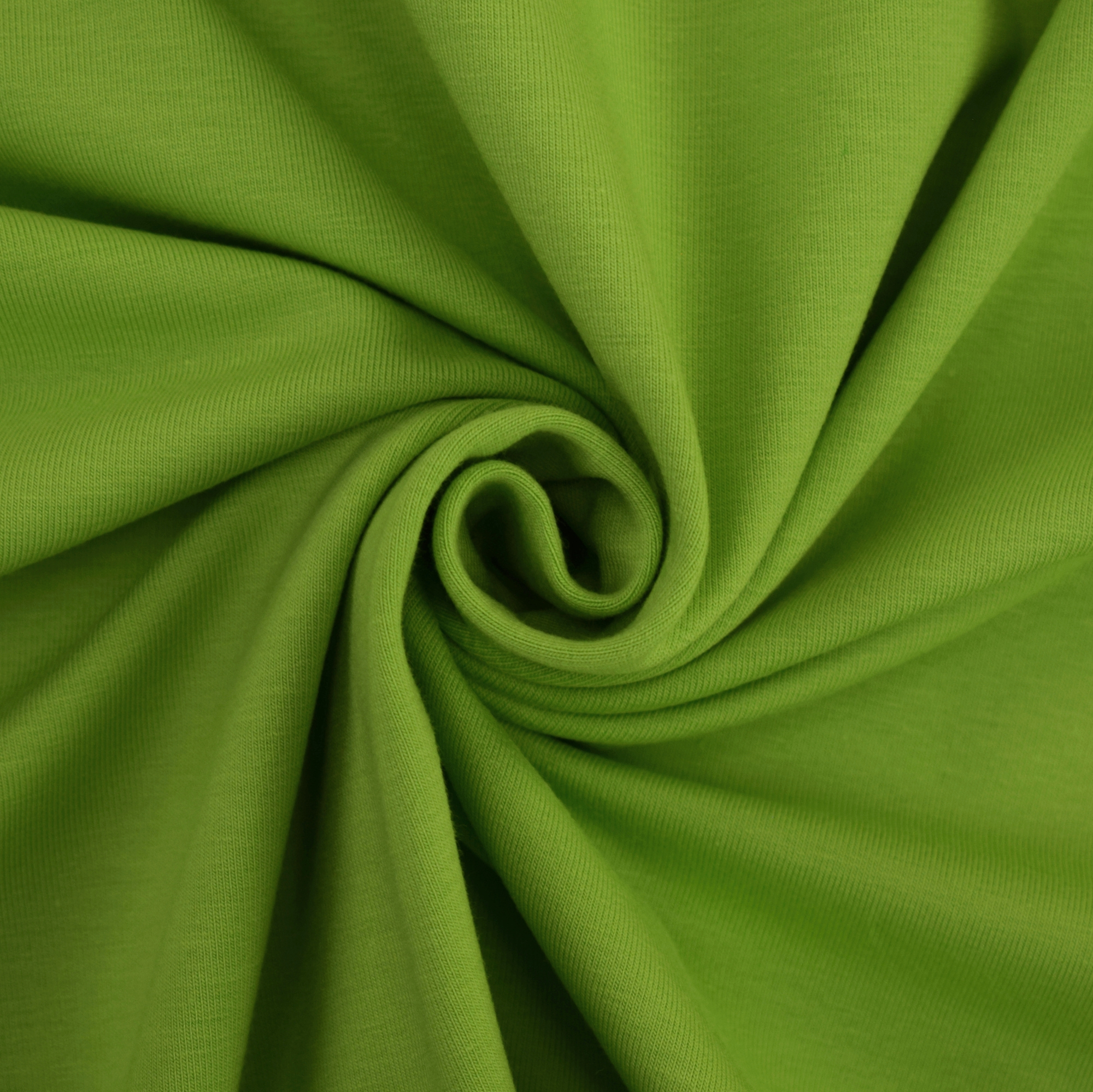 Cotton jersey plain, light green | 455.421-5304 | grün