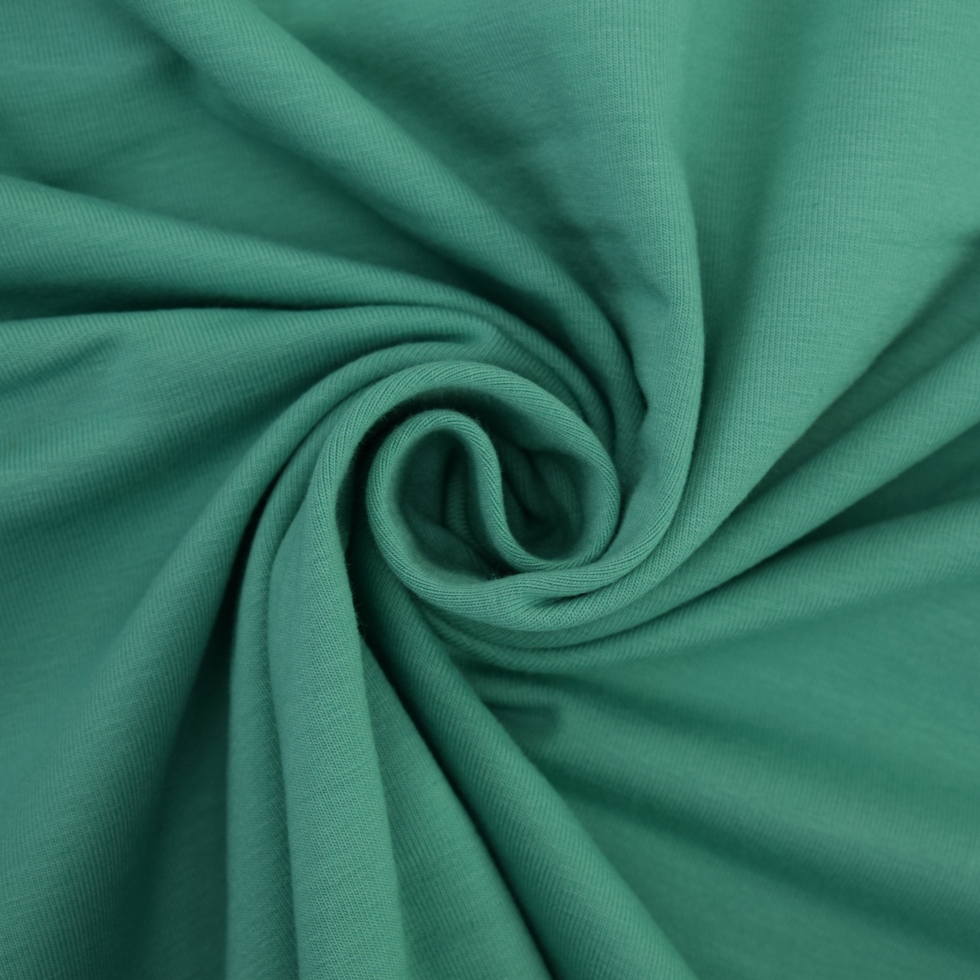 Cotton jersey plain, light teal | 455.421-8305 | petrol