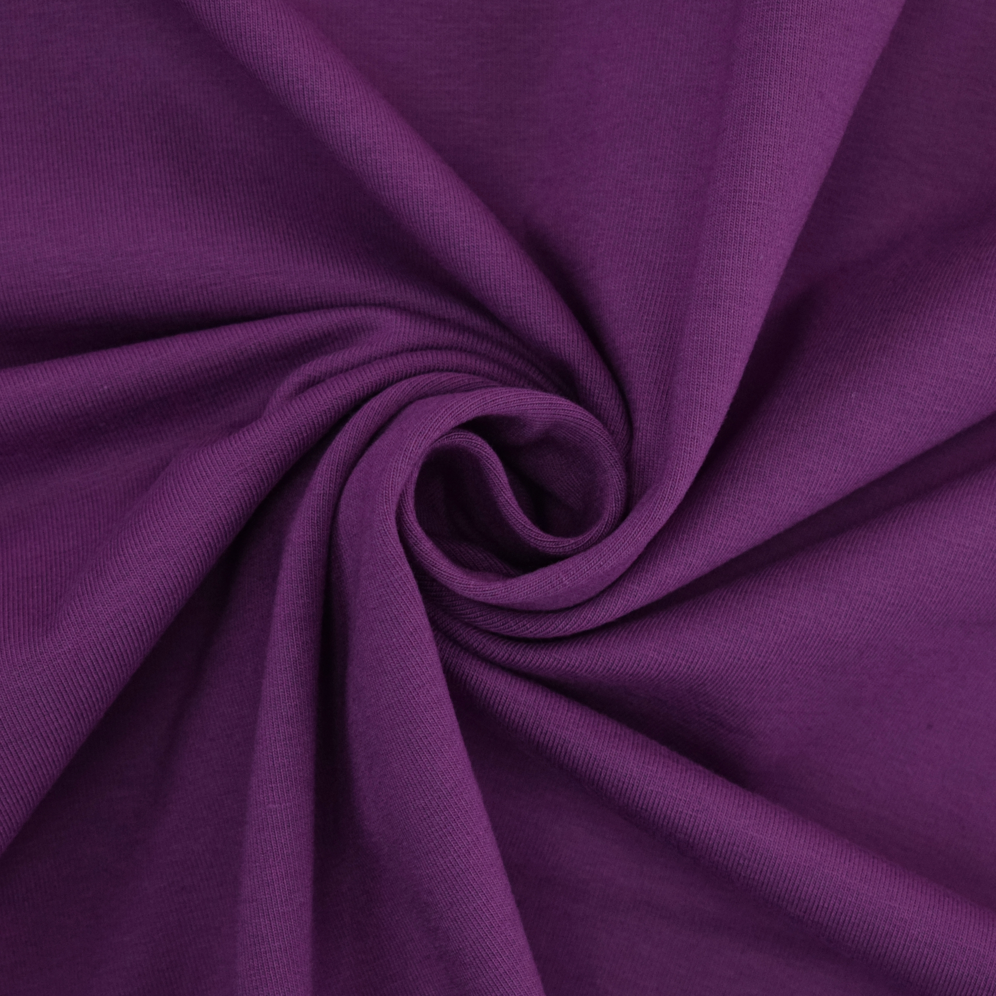 Cotton jersey plain, purple | 455.421-3205 | violett
