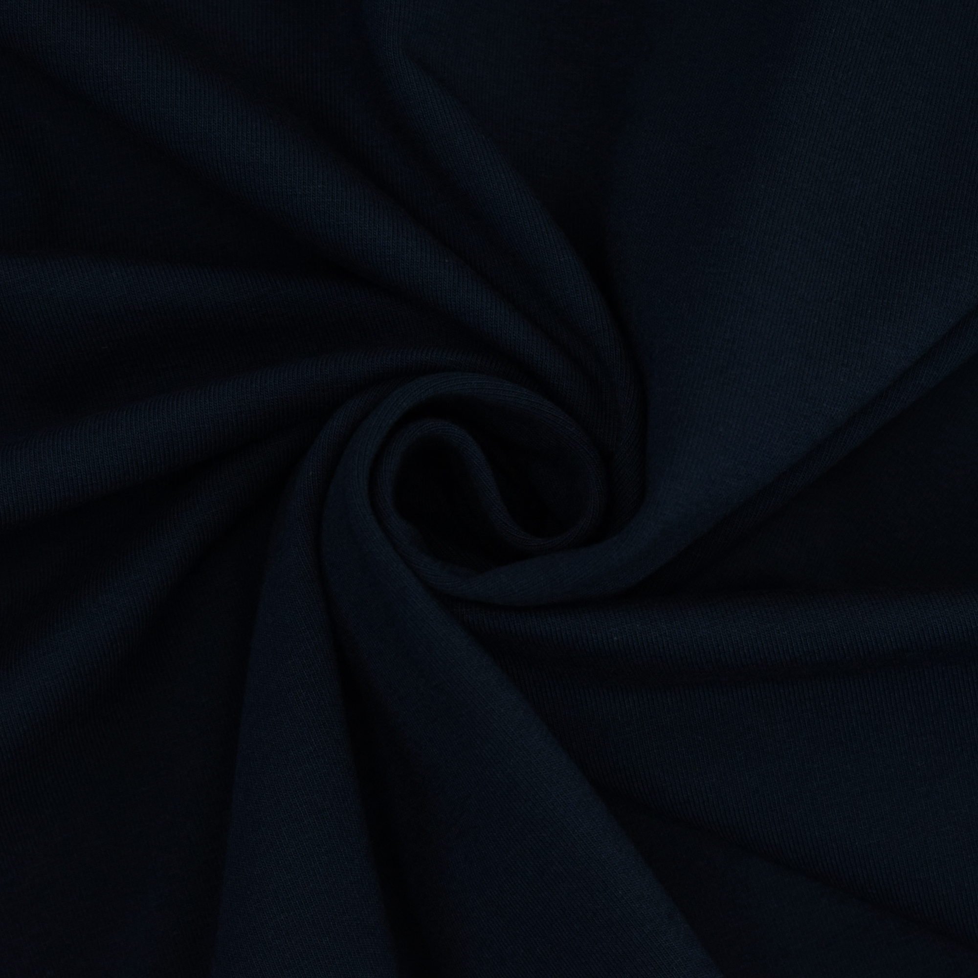Cotton jersey plain, navy blue | 455.421-6207 | blau