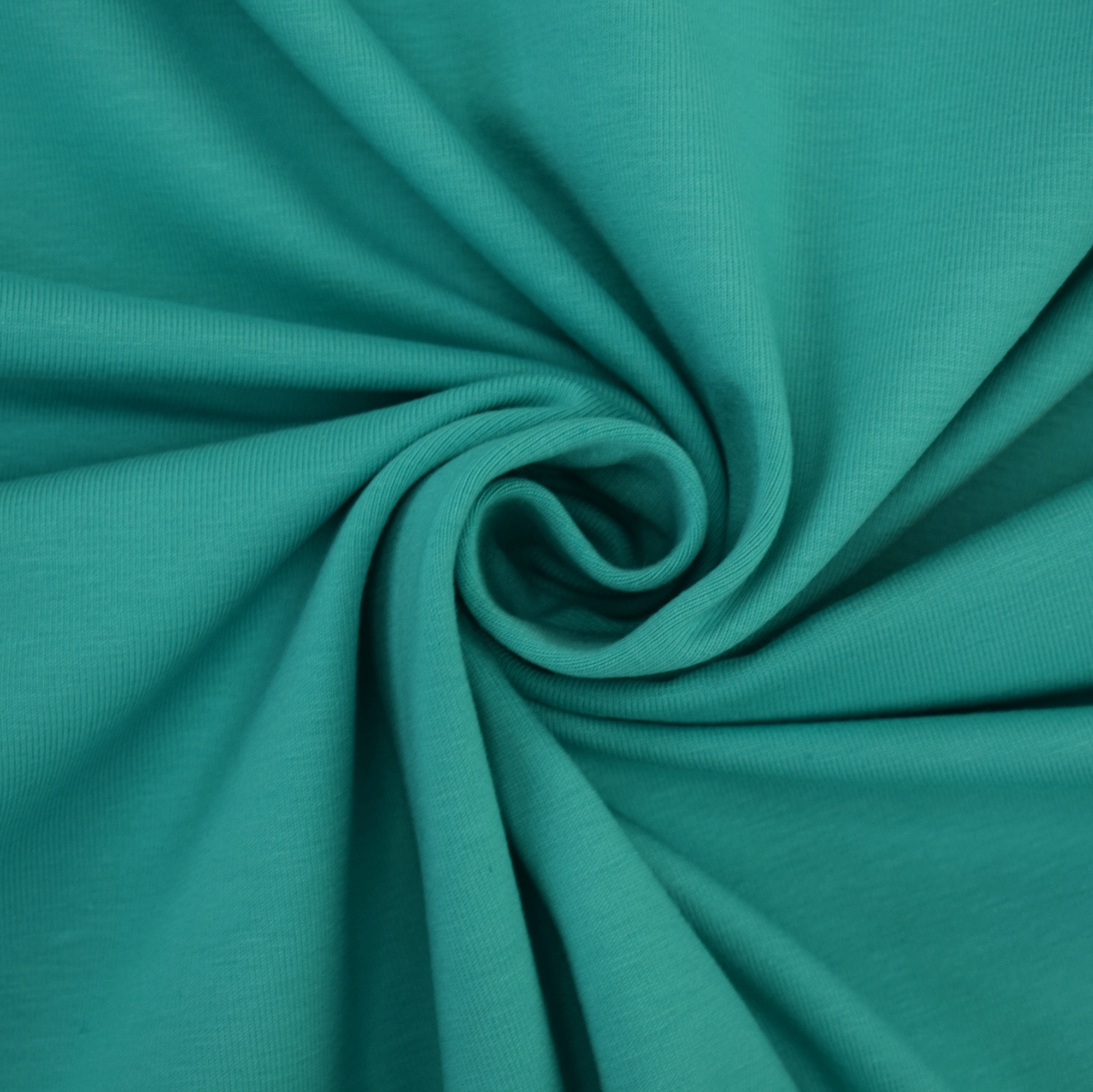 Cotton jersey plain, mint green | 455.421-6305 | grün