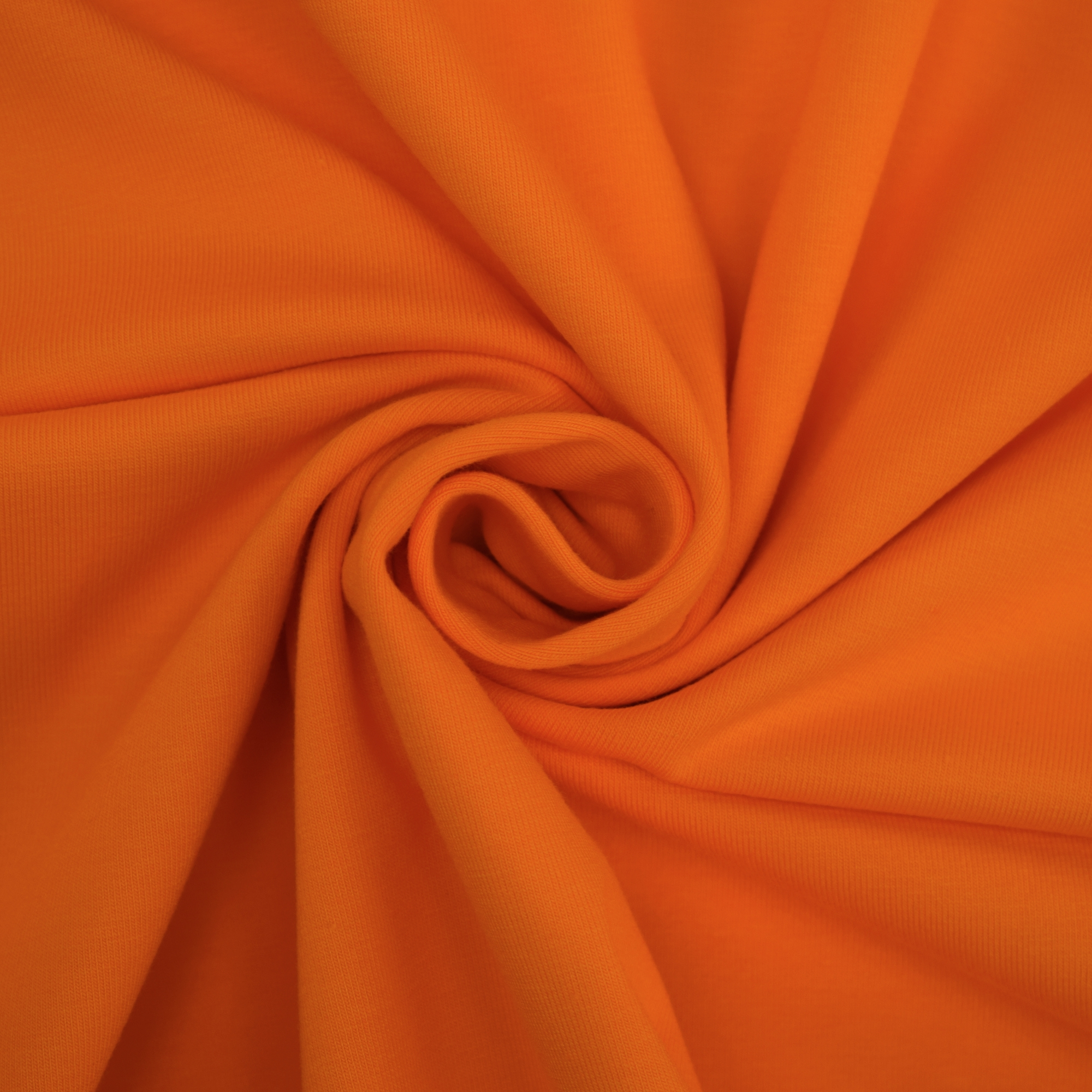Cotton jersey plain, orange | 455.421-3105 | orange