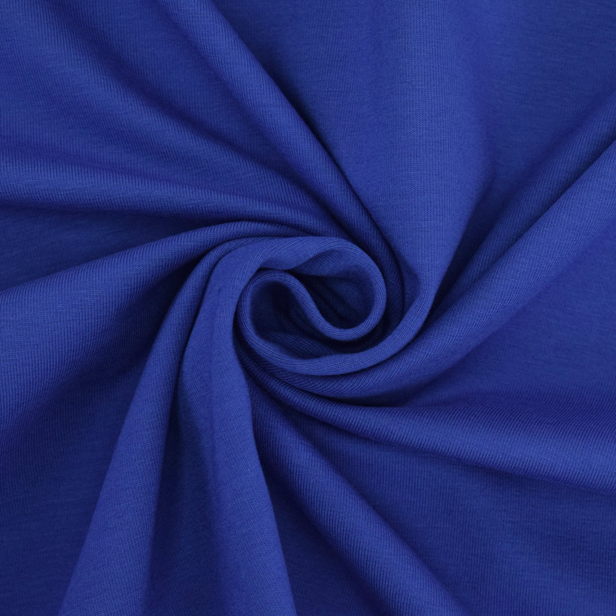 Cotton jersey plain, royal blue