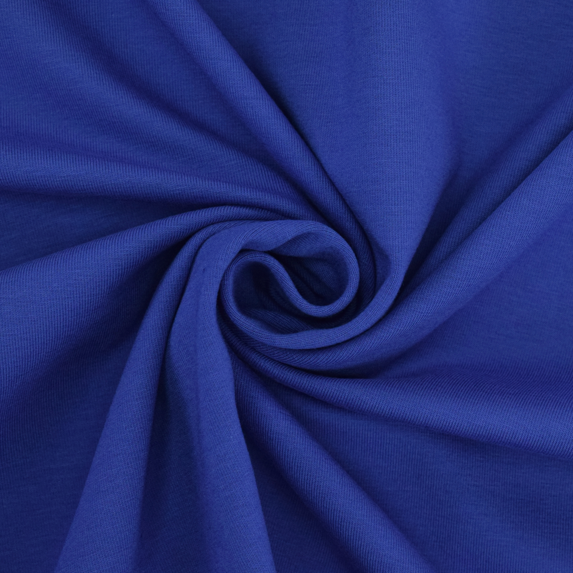 Cotton jersey plain, royal blue | 455.421-7205 | blau
