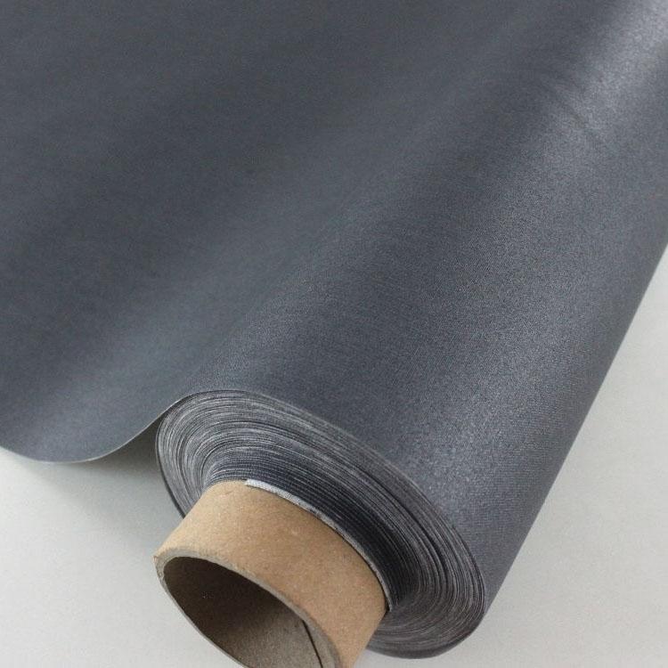 beschichtete baumwolle anthrazit stoffe. Black Bedroom Furniture Sets. Home Design Ideas