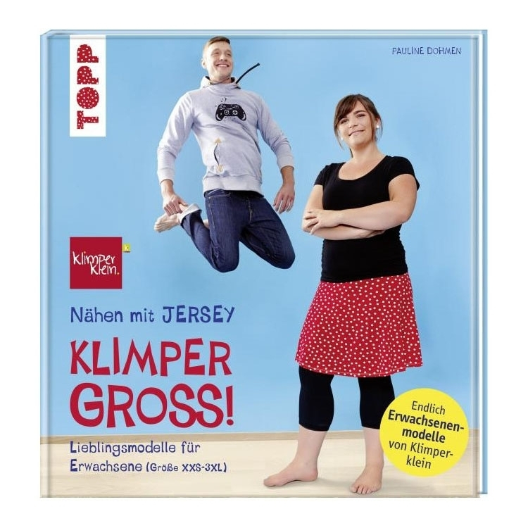 Buch Nähen mit Jersey Klimper Gross!