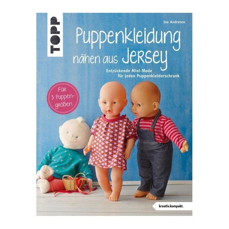 Buch Puppenkleidung nähen aus Jersey | stoffe-hemmers.de