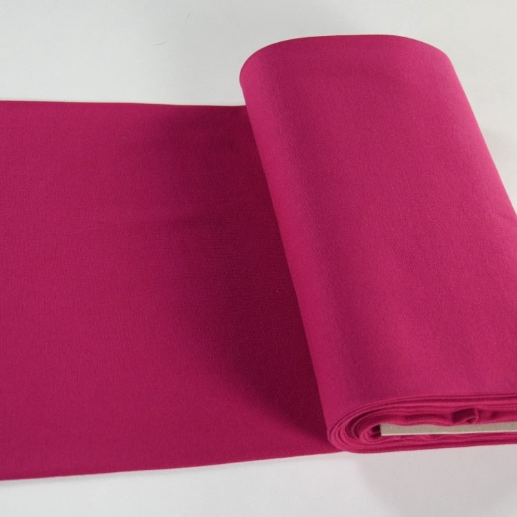 Bord-côte lisse tubulaire, magenta | 124.570-7018 | pink