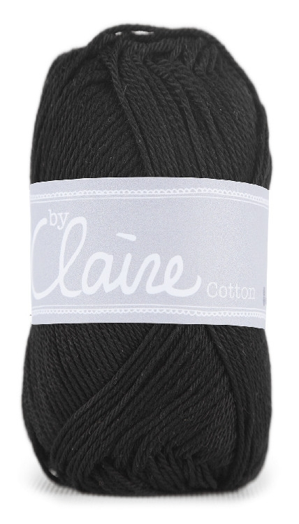 ByClaire Nr.1 Cotton 50g, black
