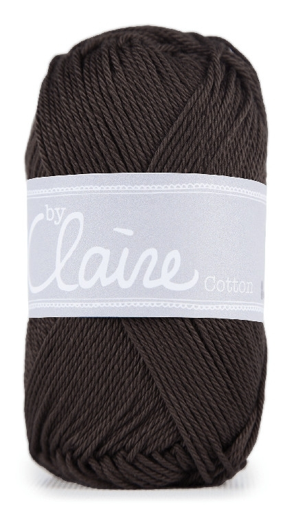 ByClaire Nr.1 Cotton 50g, dark brown