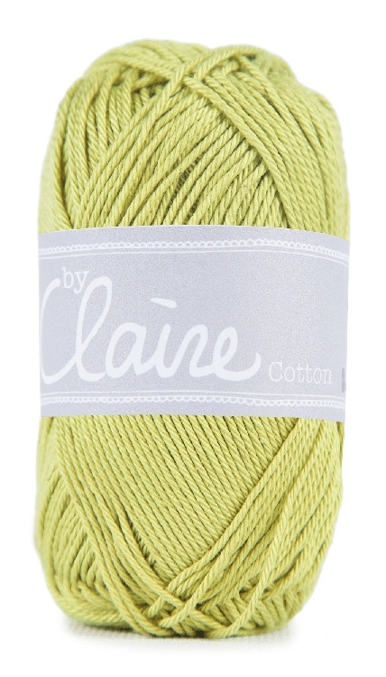 ByClaire Nr.1 Cotton 50g, lime | 037900-352 | gelb