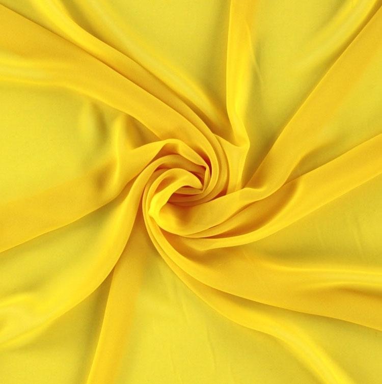 Chiffon gelb