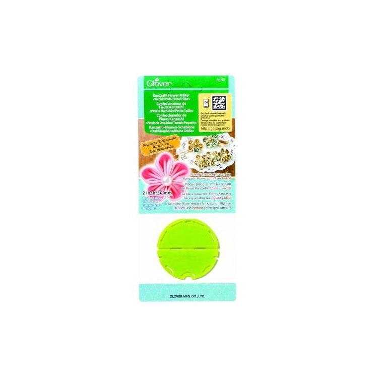 Clover Kanzashi-Blumen-Schablone (Orchideenblüt...
