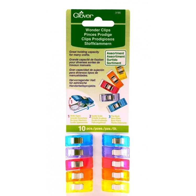 Clover Wonder Clips / Pinces Prodige 10 pcs.