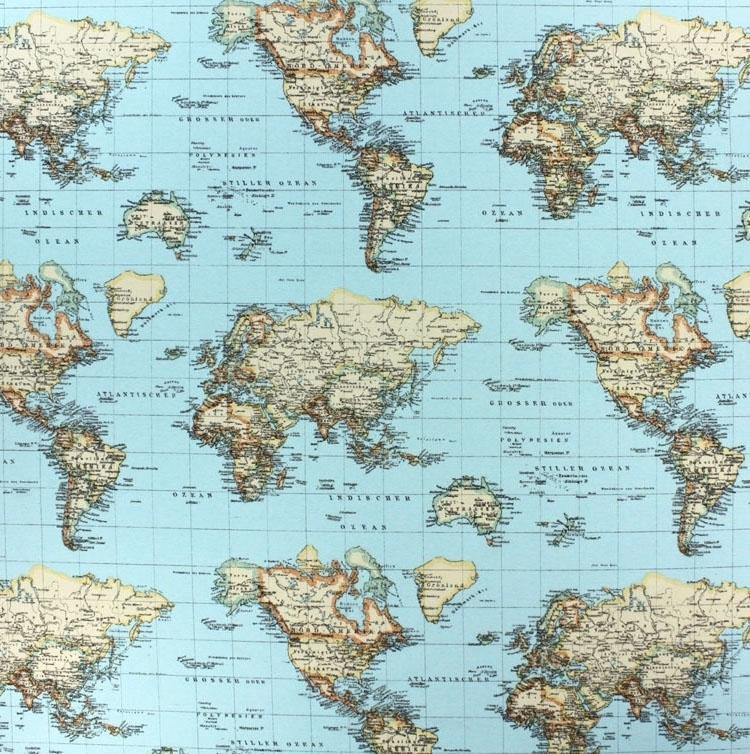 Decoratie stof wereldkaart stoffen hemmers op de wensenlijst decoratie stof wereldkaart thecheapjerseys Choice Image