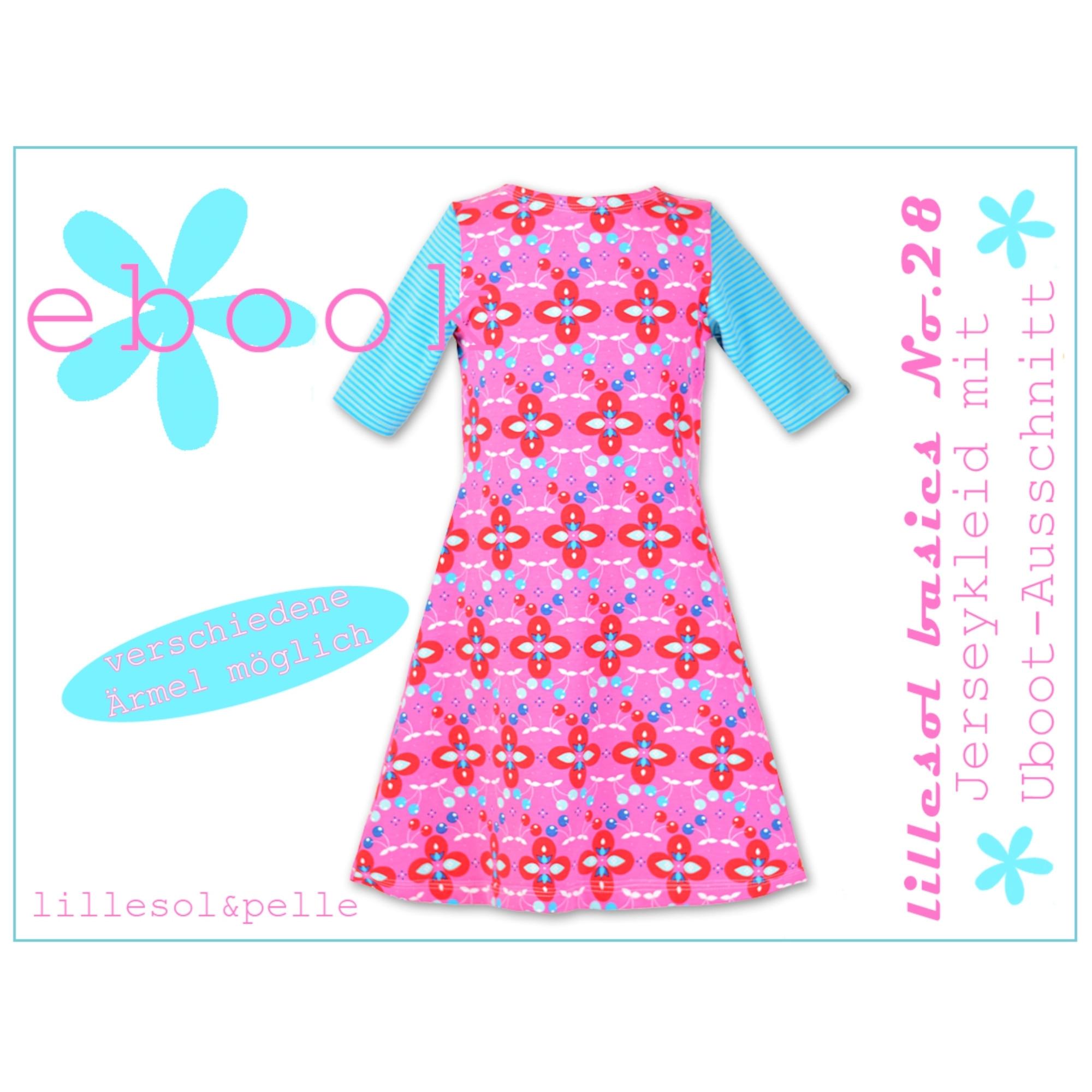 e-book lillesol & pelle jerseykleid u-boot-ausschnitt kinder