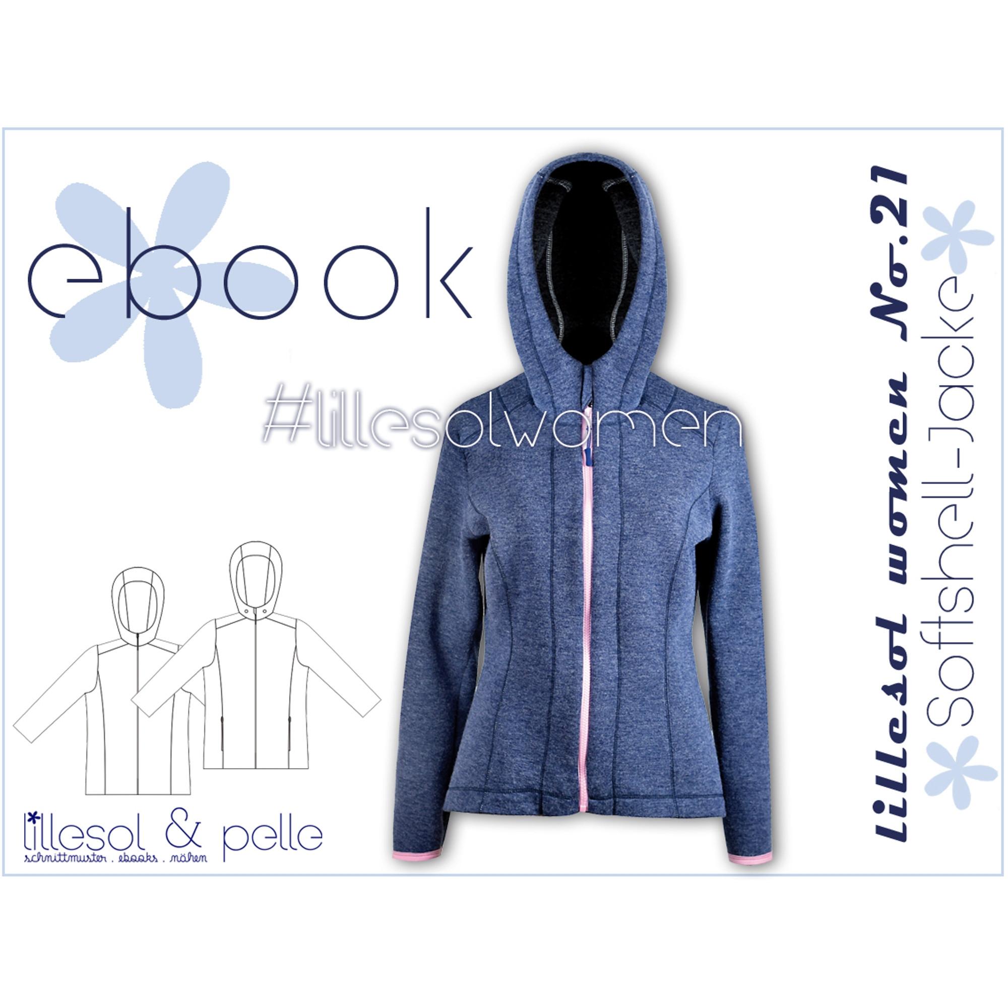 E Book Lillesol & Pelle Softshell jacket Woman