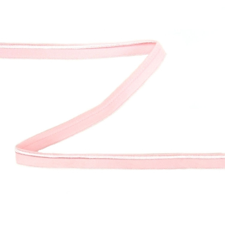 Elastic Piping Lace, pink 10 mm