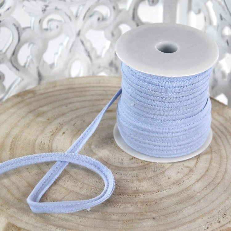 Elastisch Piping ribbon,, licht blauw | 43688 | blau