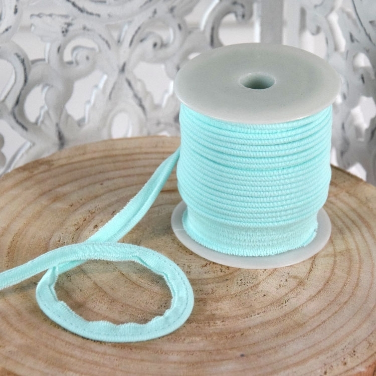 Elastisch Piping ribbon, mint | 43698 | türkis
