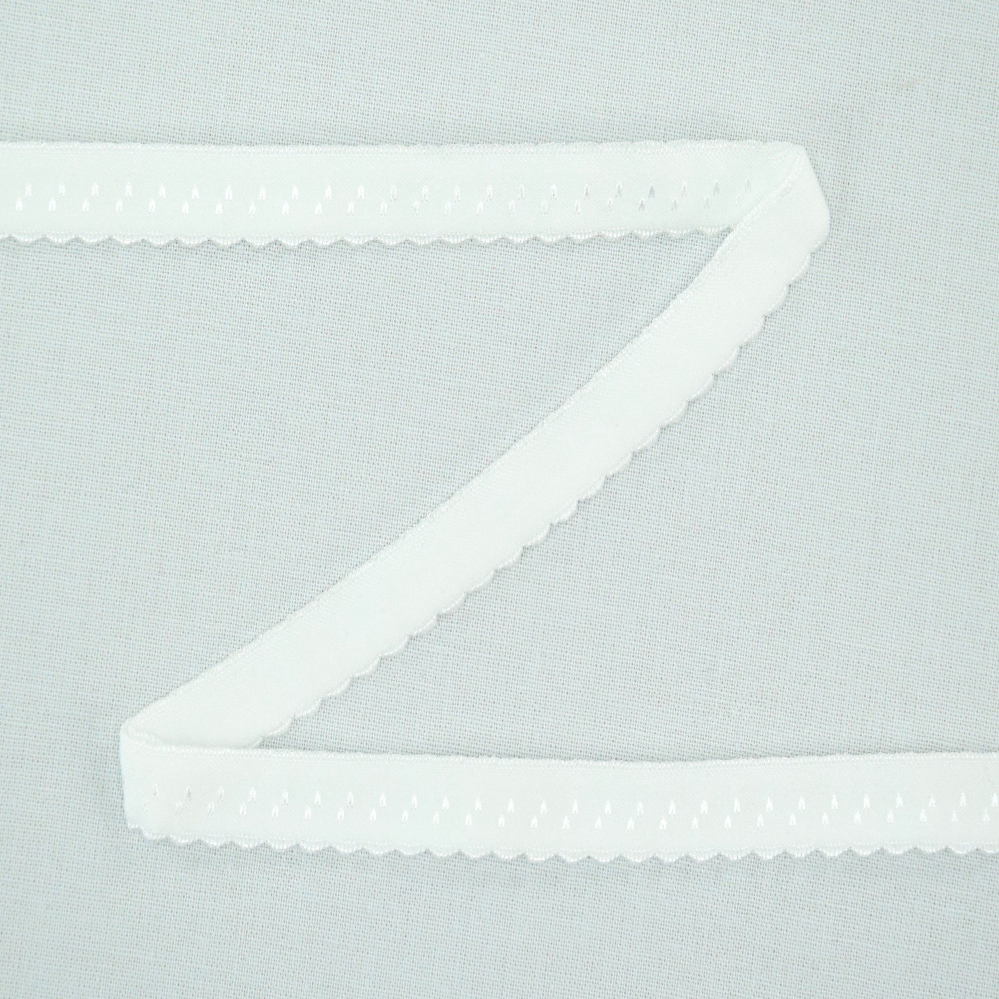 Elastic Lace Edging, off-white 12 mm